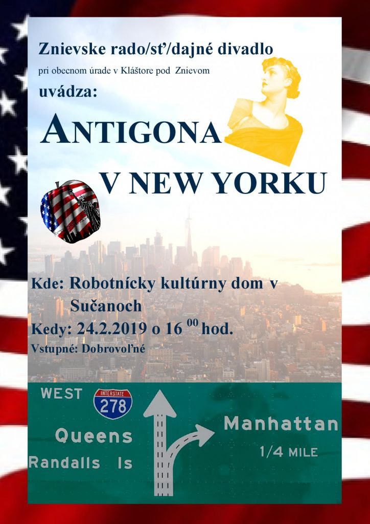 Antigona v New Yorku